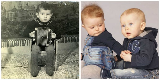 Как поменялась детская одежда со времён СССР (21 фото)