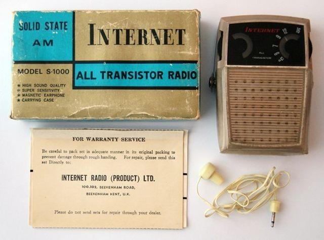 В 60-е годы в Великобритании продавали Internet (2 фото)