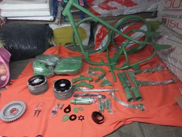 Реставрация мотоцикла Ковровец (17 фото)