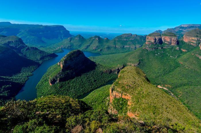 Фотопутешествие по саваннам и горам Южной Африки (24 фото)