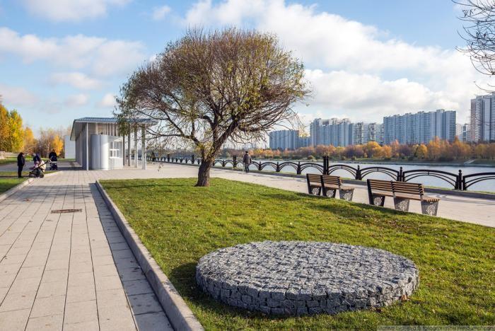 Прогулка по обновленному парку 850-летия Москвы (30 фото)