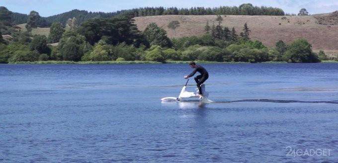 Manta5 — аквабайк для прогулок по воде (6 фото + видео)