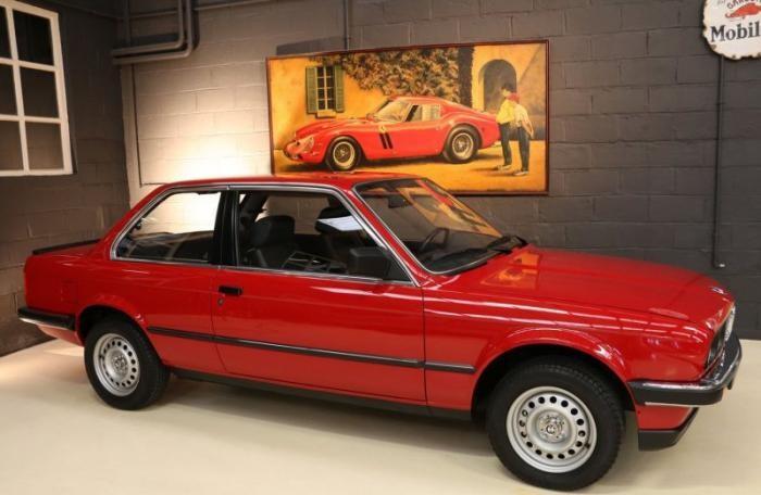 В Бельгии нашли новую BMW 1985 года (10 фото)