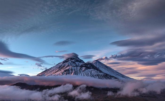 Красота вулканов на полуострове Камчатка (16 фото)