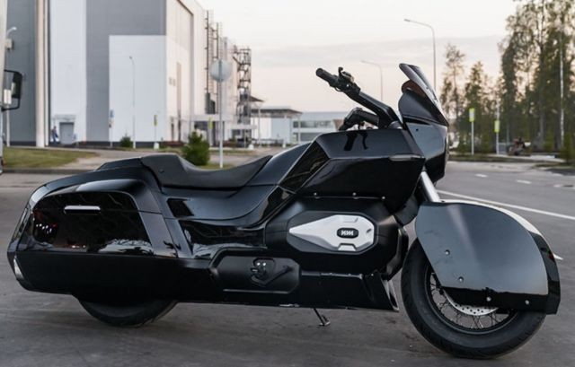 Концерн «Калашников» создал эскортный мотоцикл ИЖ (9 фото)