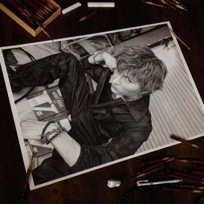Кохеи Омори - художник, работающий в жанре гиперреализм (12 фото)
