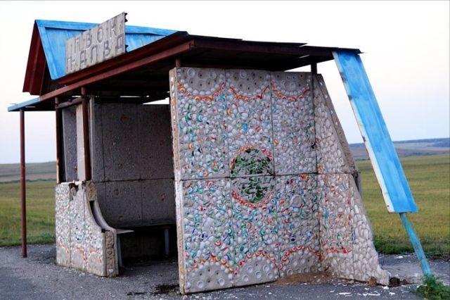 Фарфоровые остановки в Челябинской области (4 фото)
