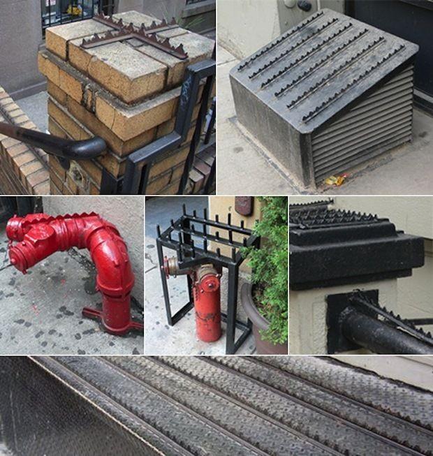 Направление городской архитектуры Defensive urban architecture (11 фото)