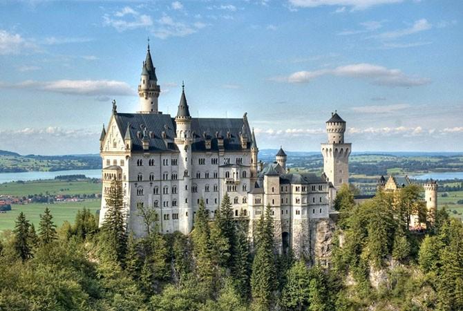 Самый красивый замок (9 фото)