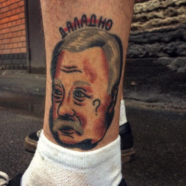 Уникальные татуировки Егора Лещева (24 фото)