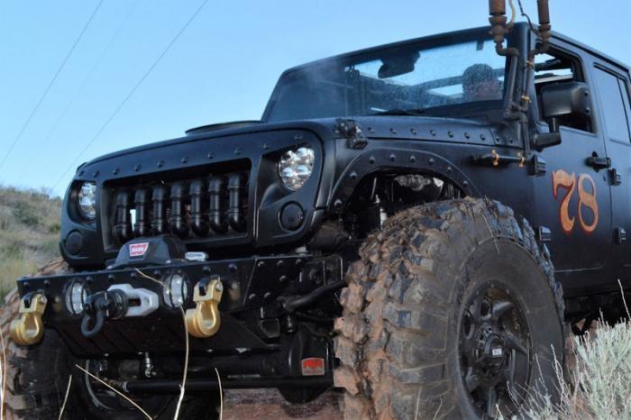 Паровоз Jeep Wrangler. Истинный паропанк (20 фото + видео)
