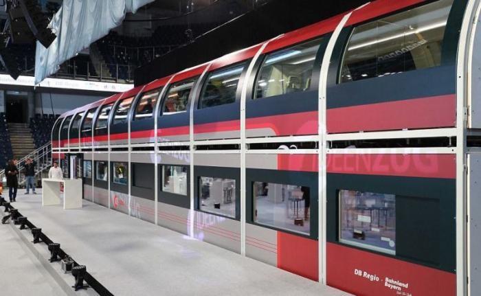 Немцы показали поезд будущего повышенного комфорта (4 фото)