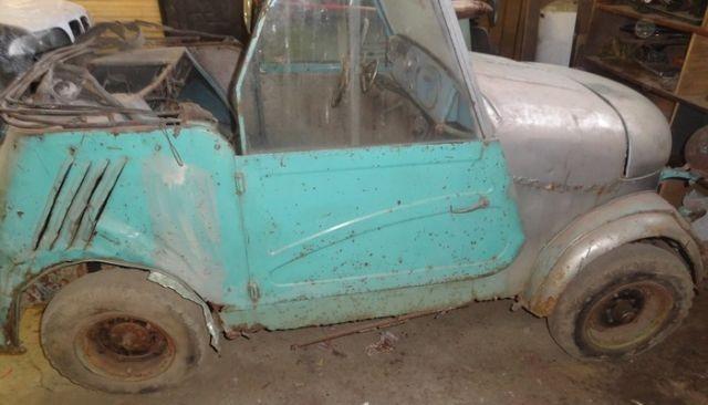 Фотоотчет о восстановлении автомобиля-мотоколяски СМЗ С3а «Моргуновки» (16 фото)