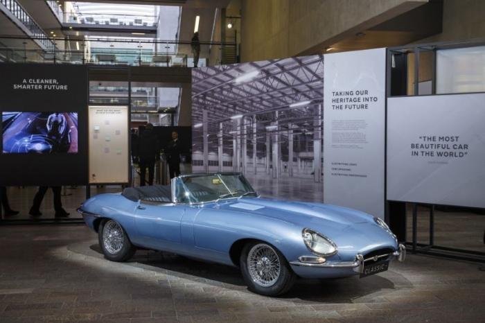 Самый красивый электромобиль в мире от Jaguar (20 фото)
