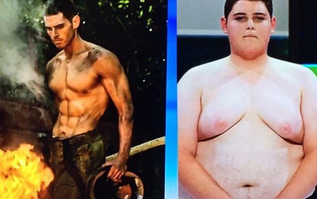 Участник реалити-шоу о похудении Сэм Руэн (3 фото)