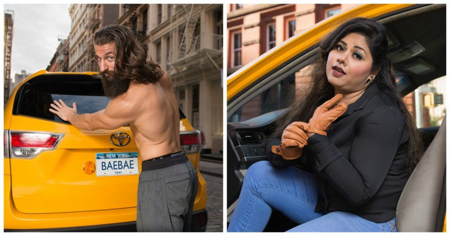 Забавный календарь от нью-йоркских таксистов на 2018 год