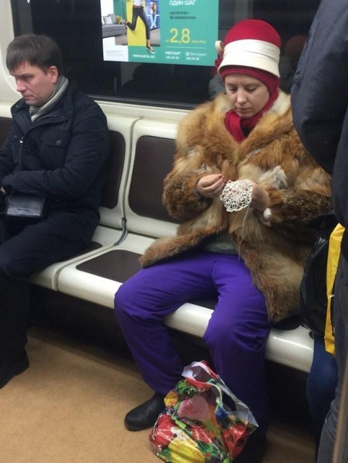 Модники из метрополитена (39 фото)