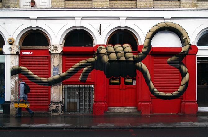 Сильные стрит-арт-работы, раскрывающие правду жизни (20 фото)