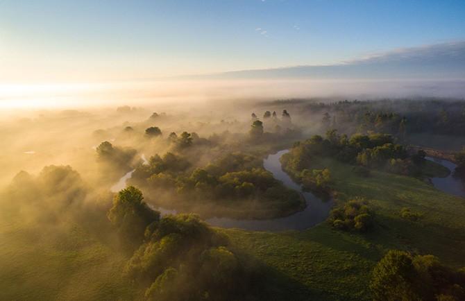 Самые красивые фотографии с дрона (20 фото)