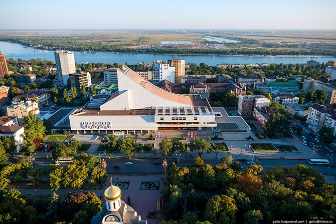 Ростов-на-Дону с высоты (60 фото)