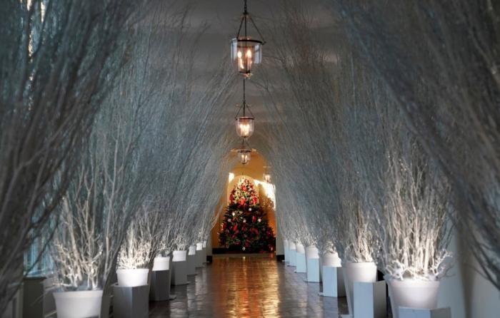Как украсили Белый дом к Новому году (21 фото)