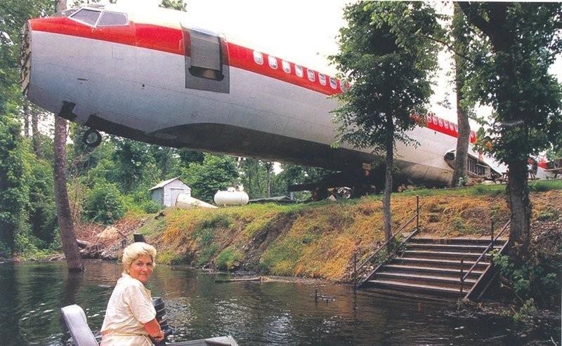 Даже после списания самолета для него найдется работа (20 фото)