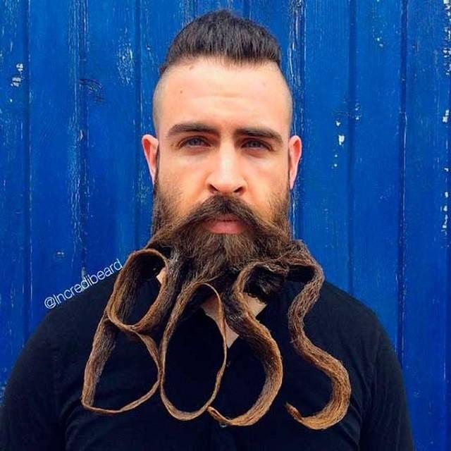 Mr. Incredibeard и его эпические скульптуры из бороды (32 фото)