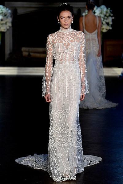 15 лучших платьев с Недели свадебной моды в Нью-Йорке (15 фото)