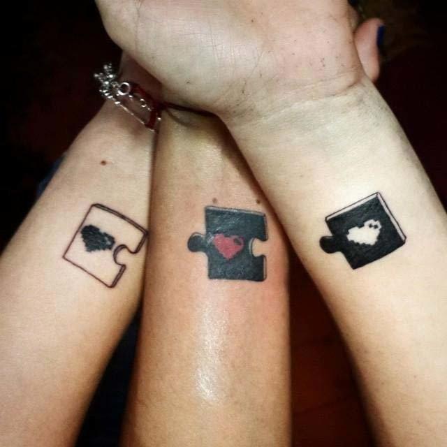 Татуировки лучших друзей (13 фото)