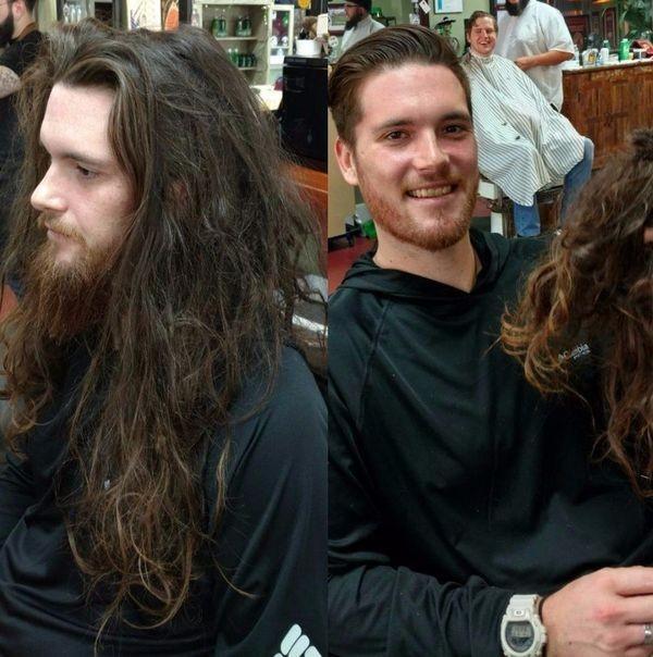 Причёска меняет человека (10 фото)