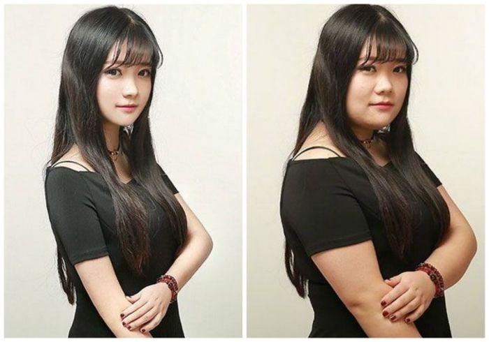 Прекрасные девушки из соцсетей вовсе не такие прекрасные (16 фото)