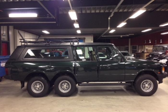 Шестиколесный Range Rover из 80-х (5 фото)