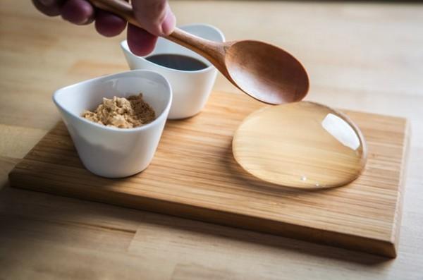 Капля в тарелке (3 фото)