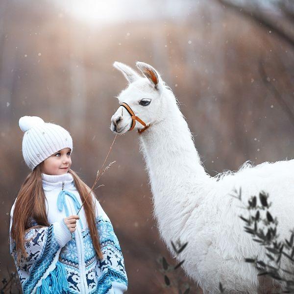 6-летнюю Анастасию Князеву назвали самой красивой девочкой в мире (12 фото)