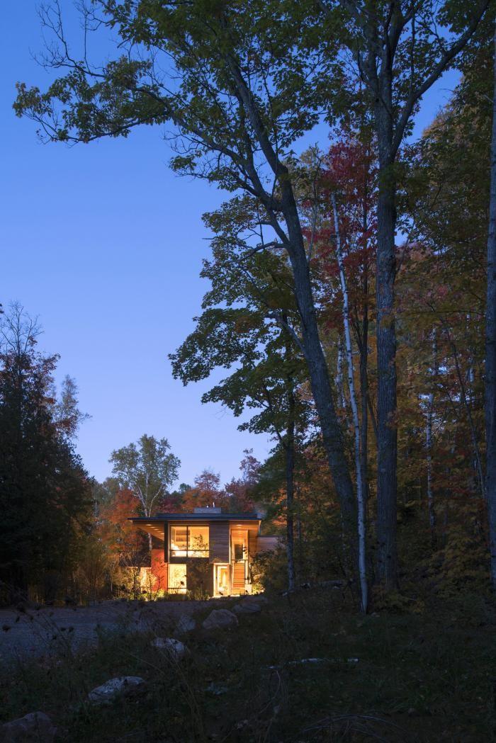 Интерьер дома в канадской глубинке (12 фото)
