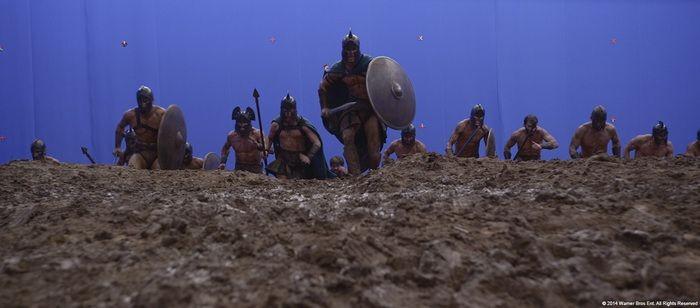 Компьютерная графика в фильме «300 спартанцев: Расцвет империи» (24 фото)