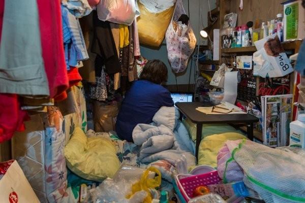 Маленькие японские комнаты (13 фото)