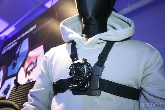 Casio G'z EYE GZE-1 — самая стильная защищённая экшн-камера (13 фото)