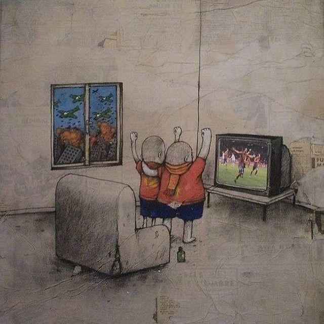 Граффити от «французского Бэнкси» (29 фото)