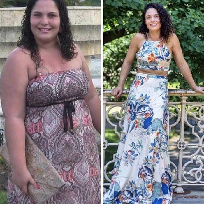 Люди, поборовшие лишние килограммы (40 фото)