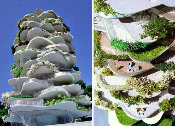 10 домов, бросающих вызов гравитации (10 фото)