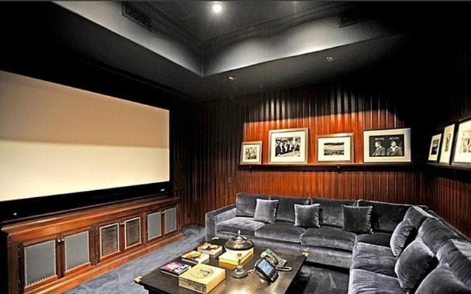 Домашние кинотеатры знаменитостей (10 фото)