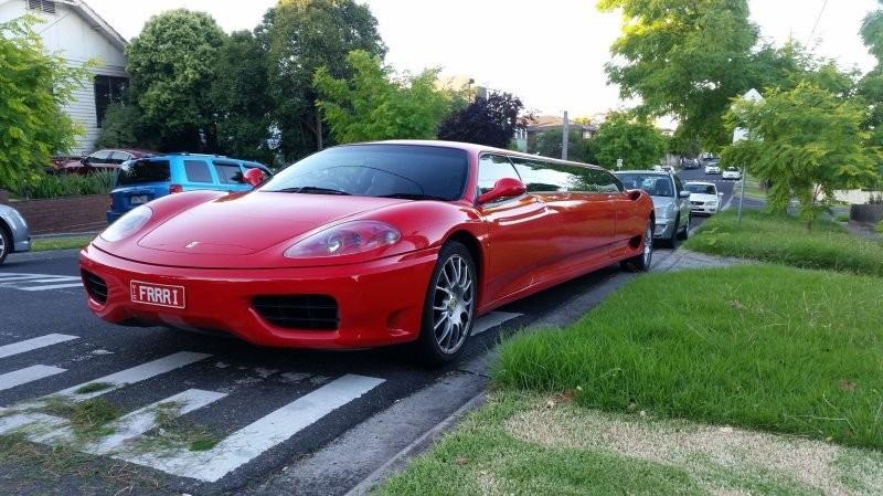 Экзотический лимузин Ferrari в Мельбурне (4 фото)