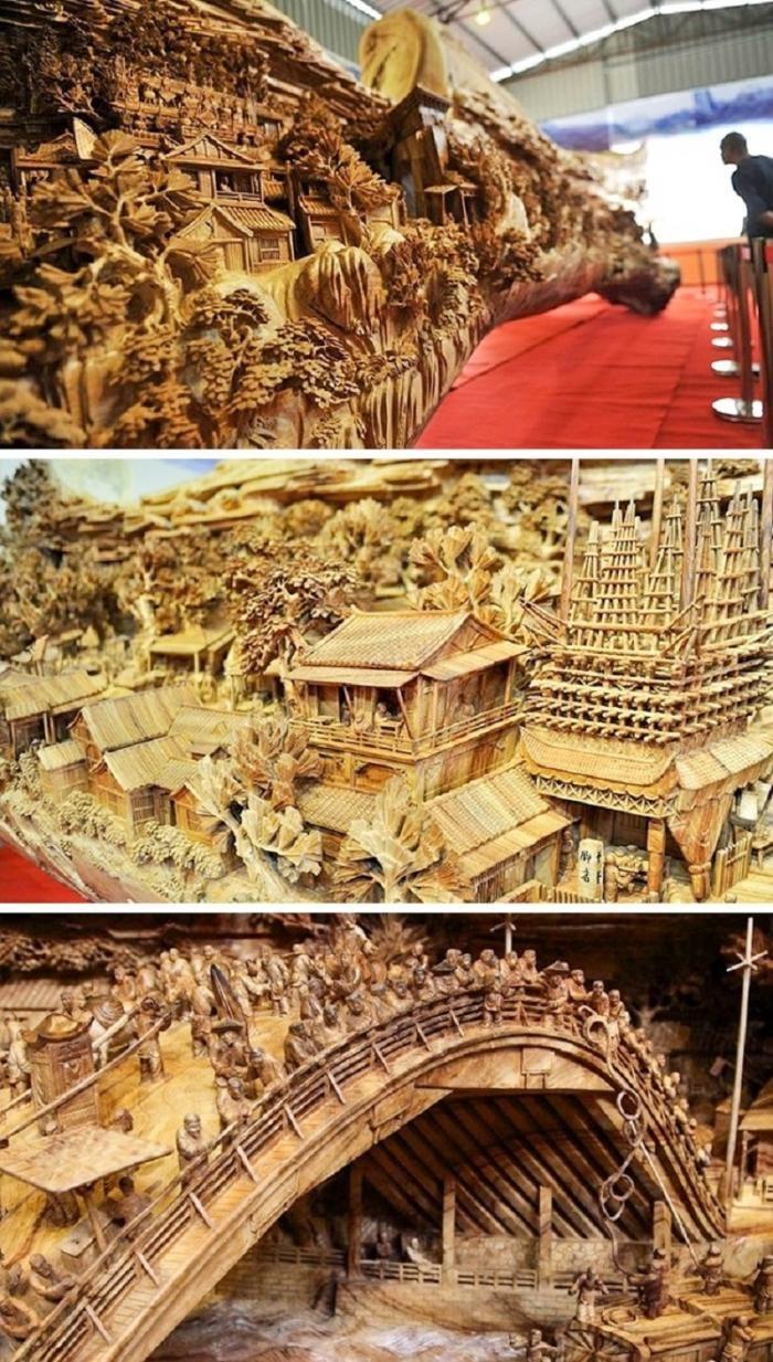 Реалистичные скульптуры из дерева, от которых по коже бегут мурашки (23 фото)