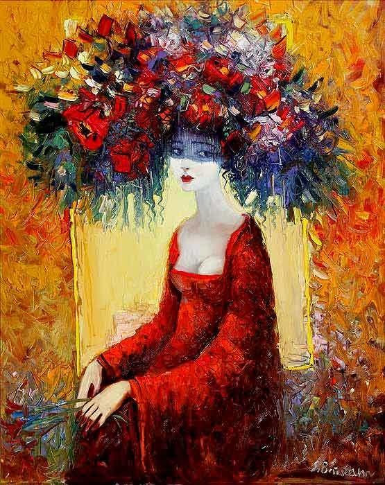 Буйство красок на картинах Байрама Саламова (11 фото)