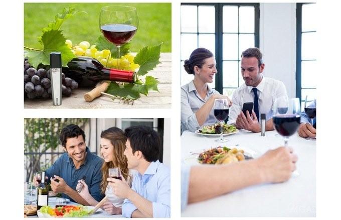 Портативный гаджет для определения характеристик вина (5 фото + видео)