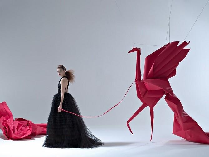 Удивительные работы из бумаги Мауро Сересини (13 фото)