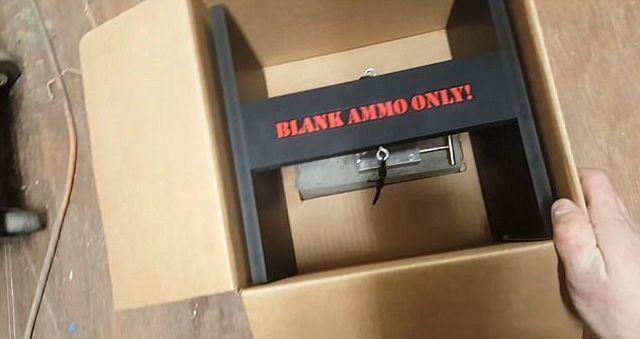 Американец изобрел устройство для защиты своих посылок от воров (4 фото)