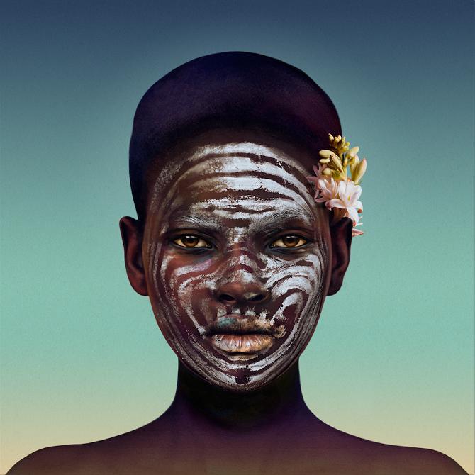 Гиперреалистичные портреты, написанные акварелью (11 фото)