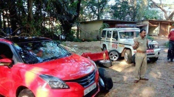 В Индии мужчина купил Maruti Baleno под видом Mercedes-Benz A-Class (4 фото)